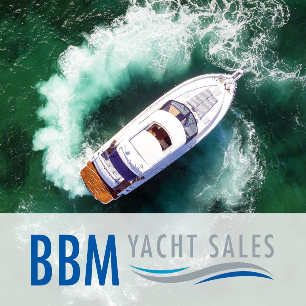 Brokerage Team BBM Yacht Sales Boat Logo